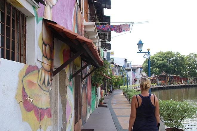 Balade sur les quais Melaka Malaisie-min