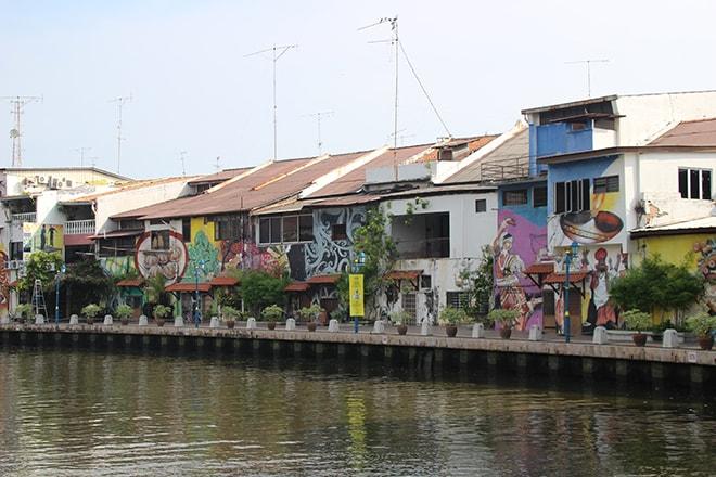 Les quais de Melaka Malaisie-min