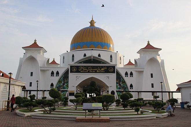 Mosquée Melaka Malaisie