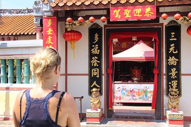 Temple chinois Melaka Malaisie-min