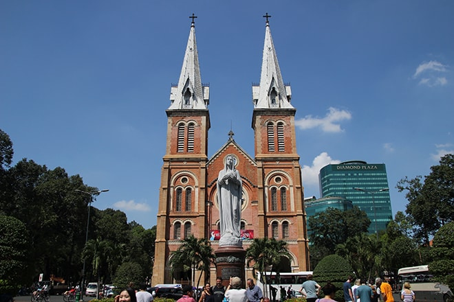 Cathedrale Ho Chi Minh Vietnam