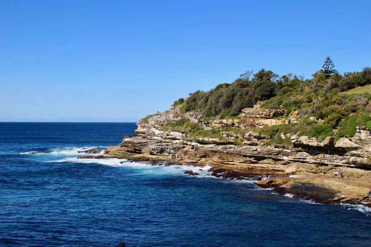 Coastal walk Bondi Beach Sydney