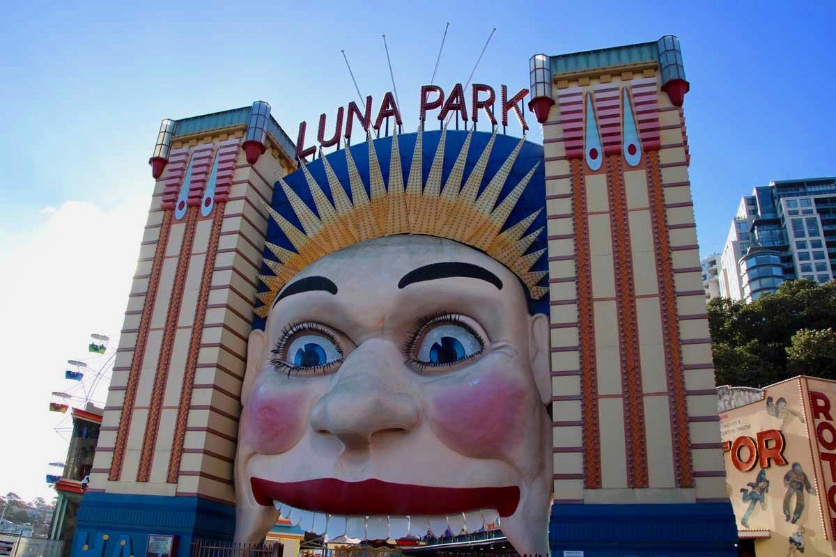 Entree Luna Park Sydney