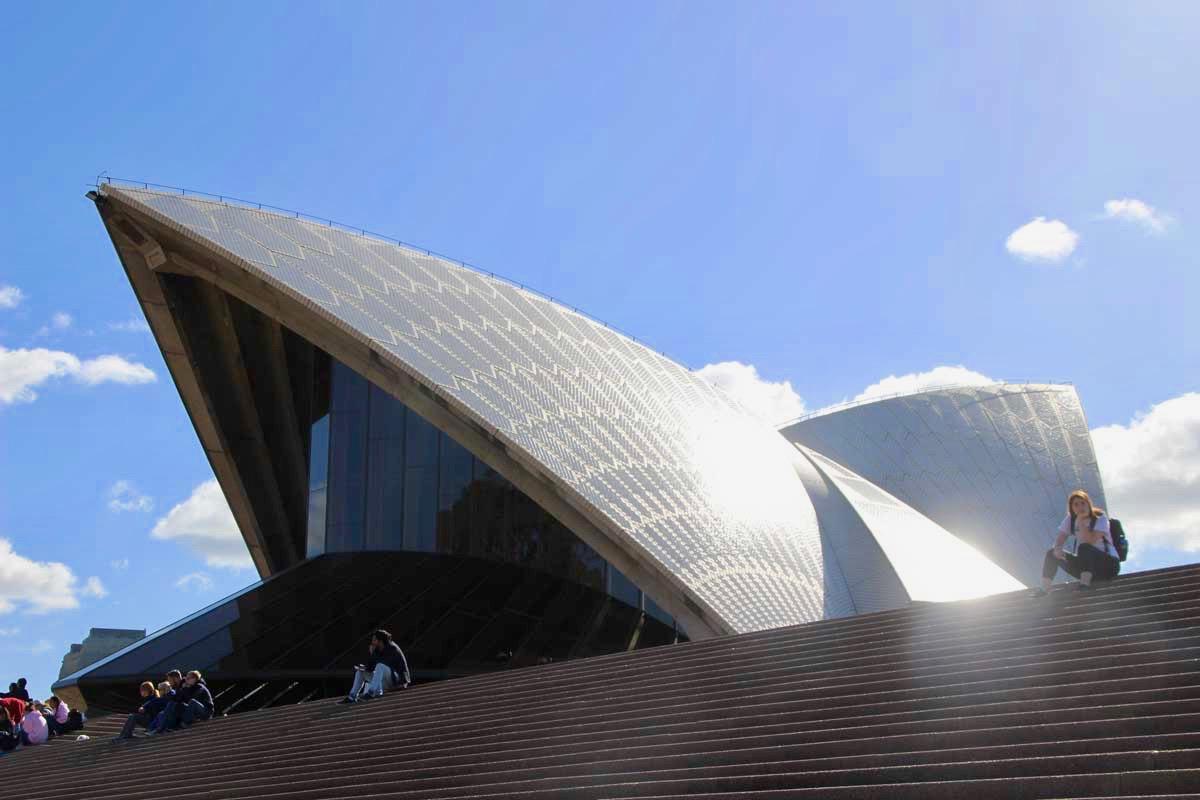 Facade Opera House Sydney