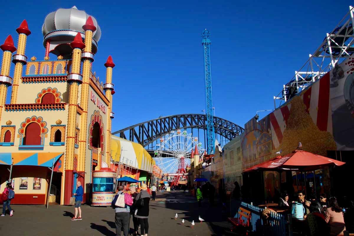 Interieur Luna Park Sydney