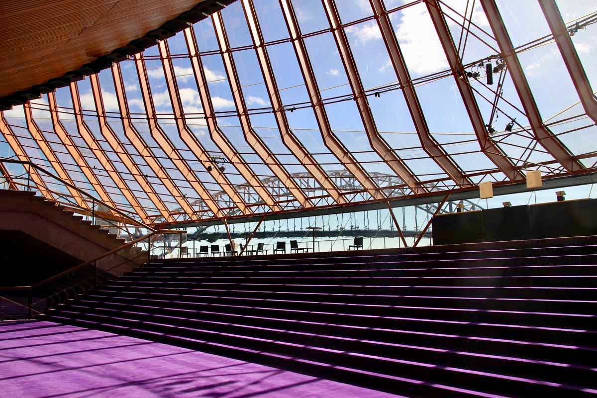 Interieur Opera House Sydney