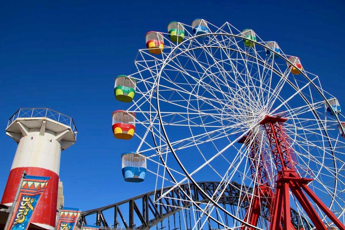 Luna Park Grande roue Sydney