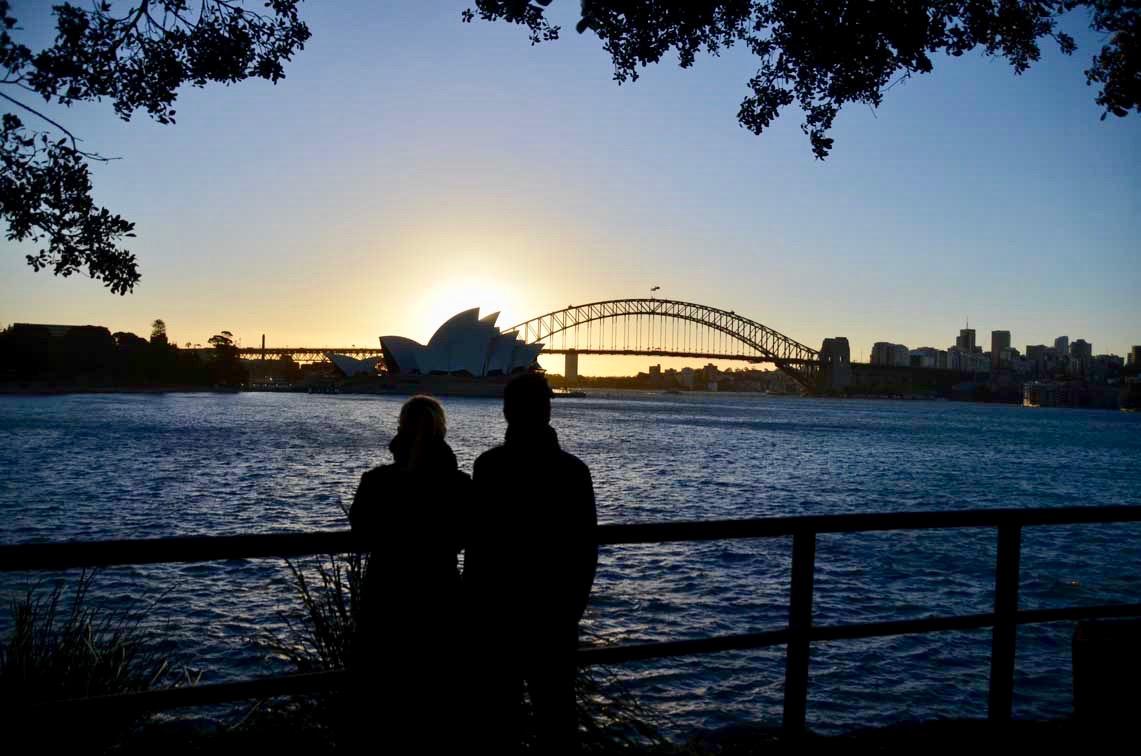 Moi coucher de soleil Sydney