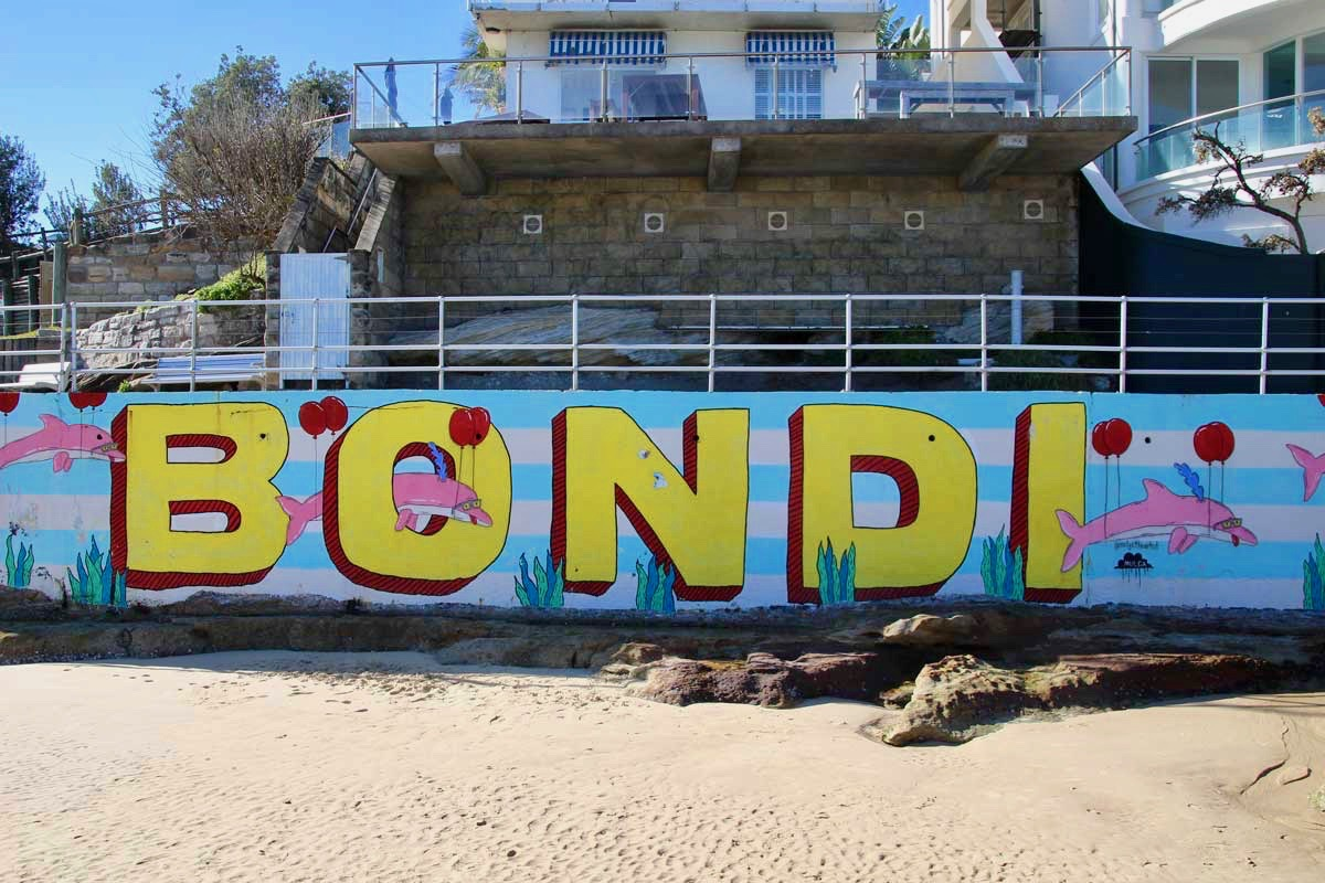 Mural Bondi Beach Sydney
