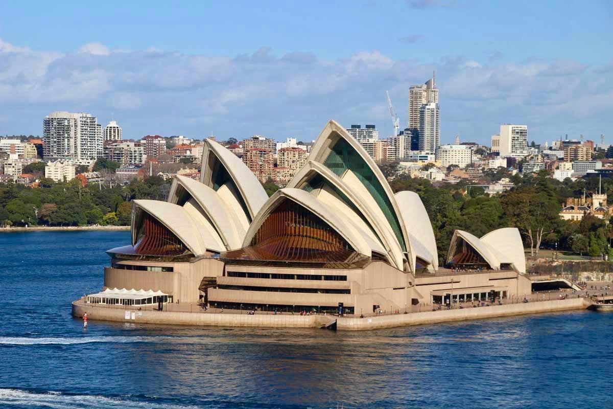 Opera House vue Pont de Sydney