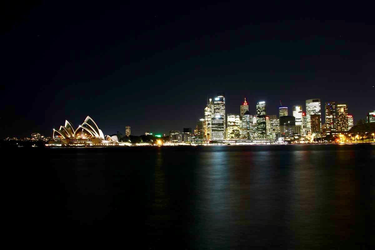 Opera de Sydney skyline