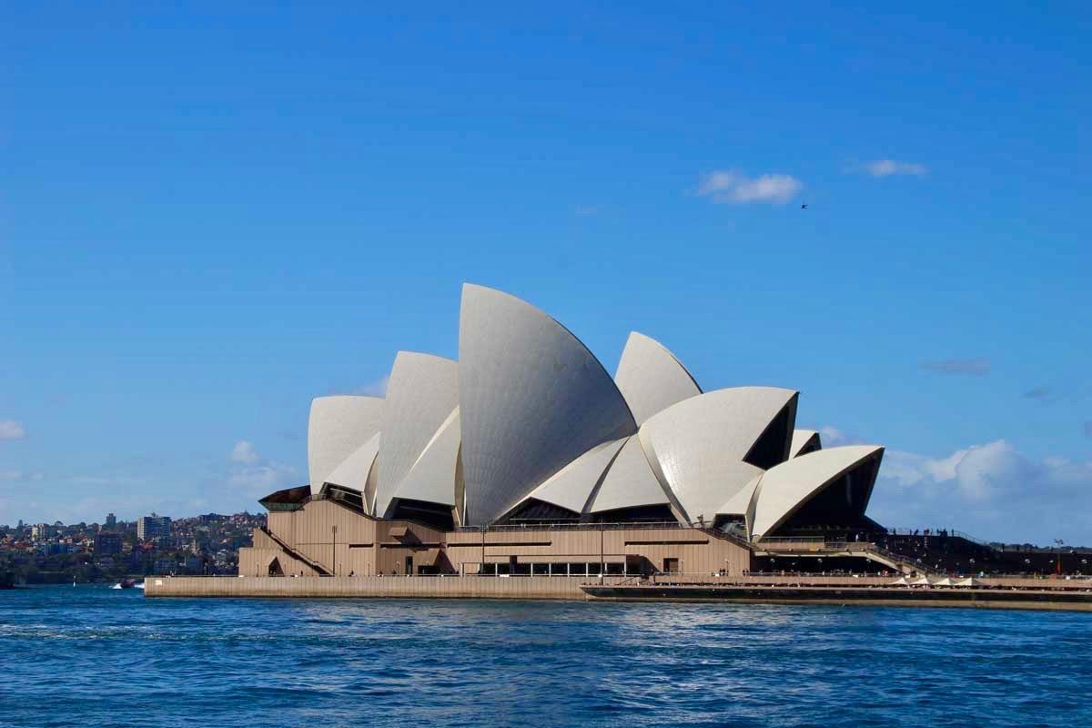 Opera de Sydney vue The Rocls