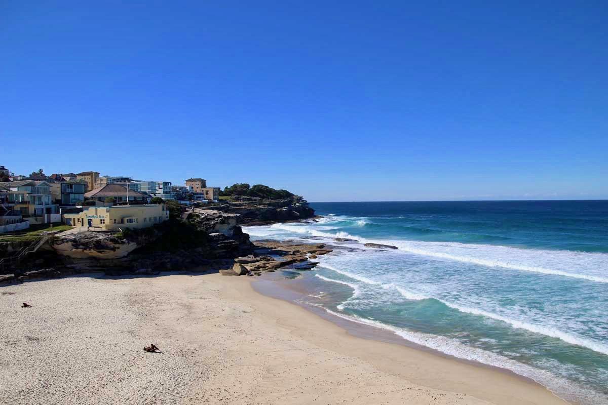 Plage coastal Walk Bondi Beach Sydney
