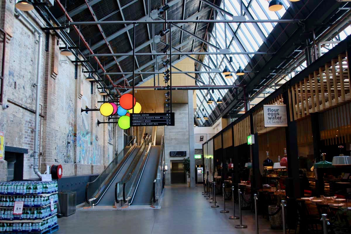 Structure Tramsheds Food Tour Sydney
