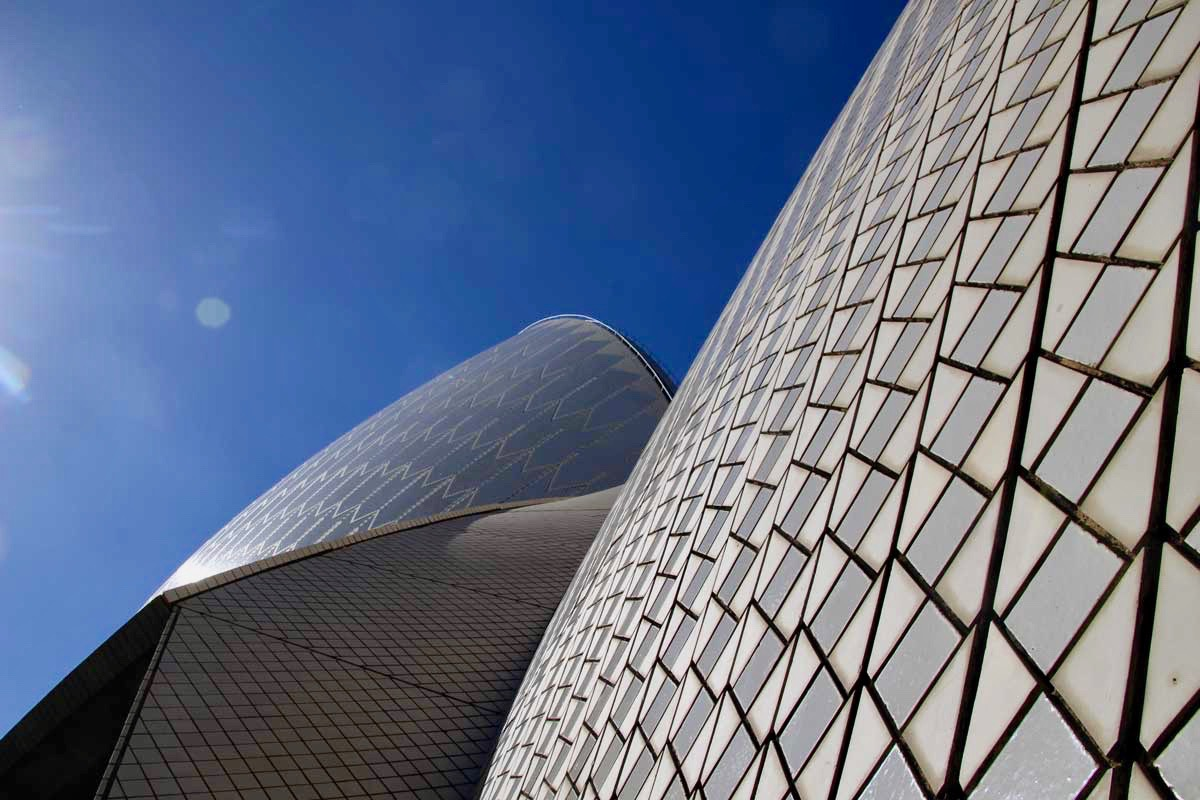 Structure voiles Opera Sydney