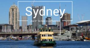 Sydney sa baie et ses bateaux