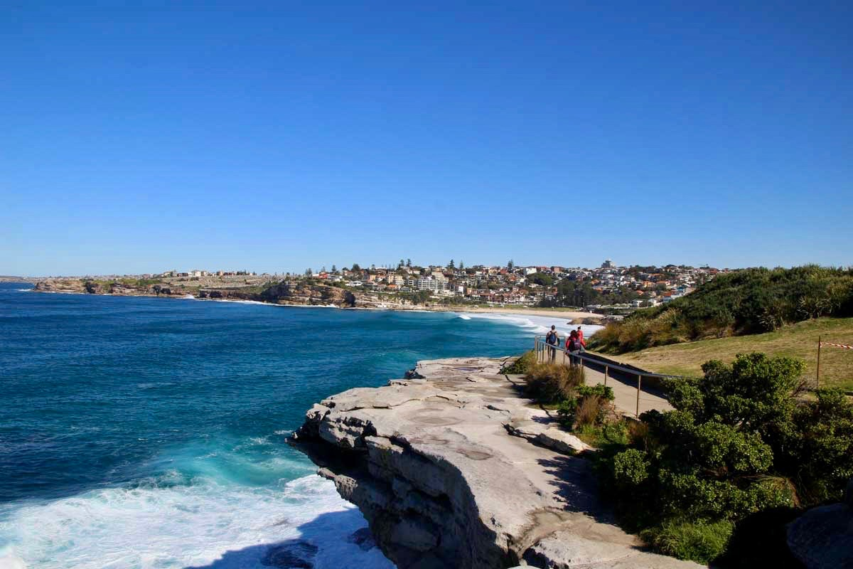 Vue Coastal Walk Bondi Beach Sydney