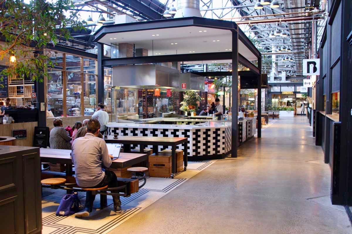 interieur Tramsheds Food Tour Sydney