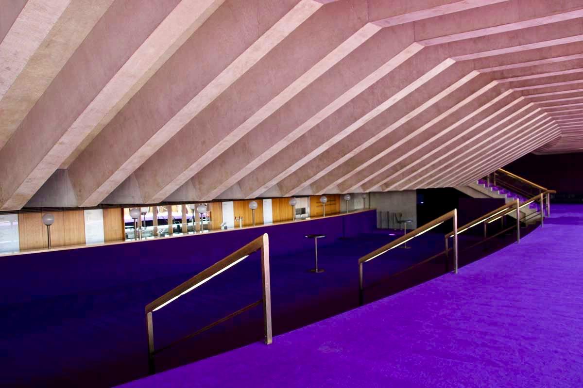 interieur couloir Opera de Sydney