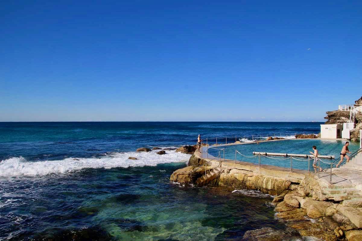piscine pleine Coastal Walk Sydney