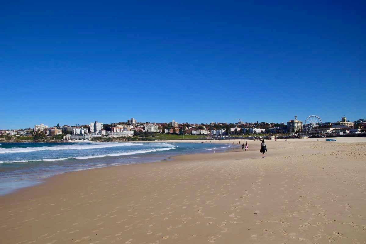 plage Bondi Beach Sydney