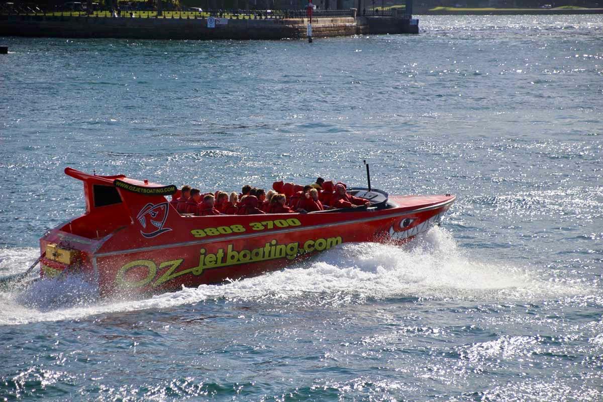 Bateau Oz Jet boat Speedboat Sydney