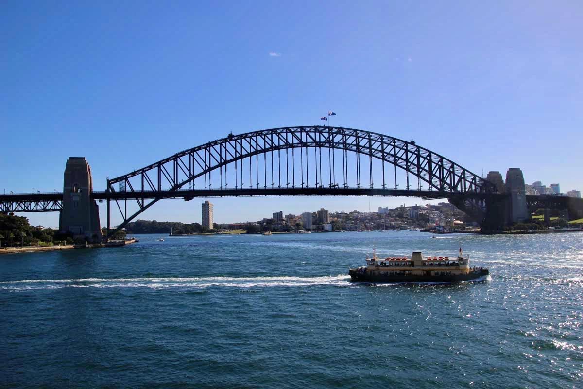 Ferry dans la baie de Sydney