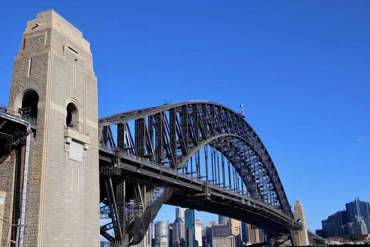 Harbour Bridge Sydney et the Pylon