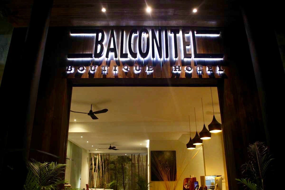 Logo Hotel Balconitel Phnom Penh Cambodge