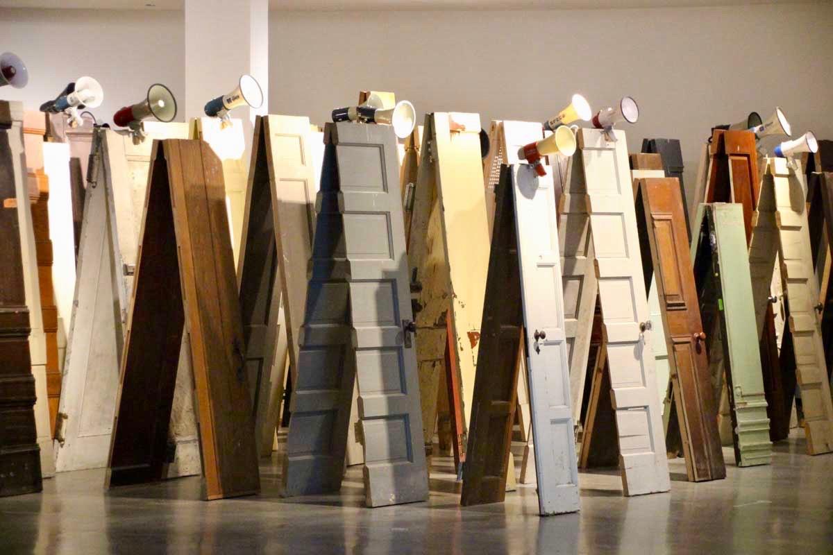 Musee d'art contemporain Sydney portes