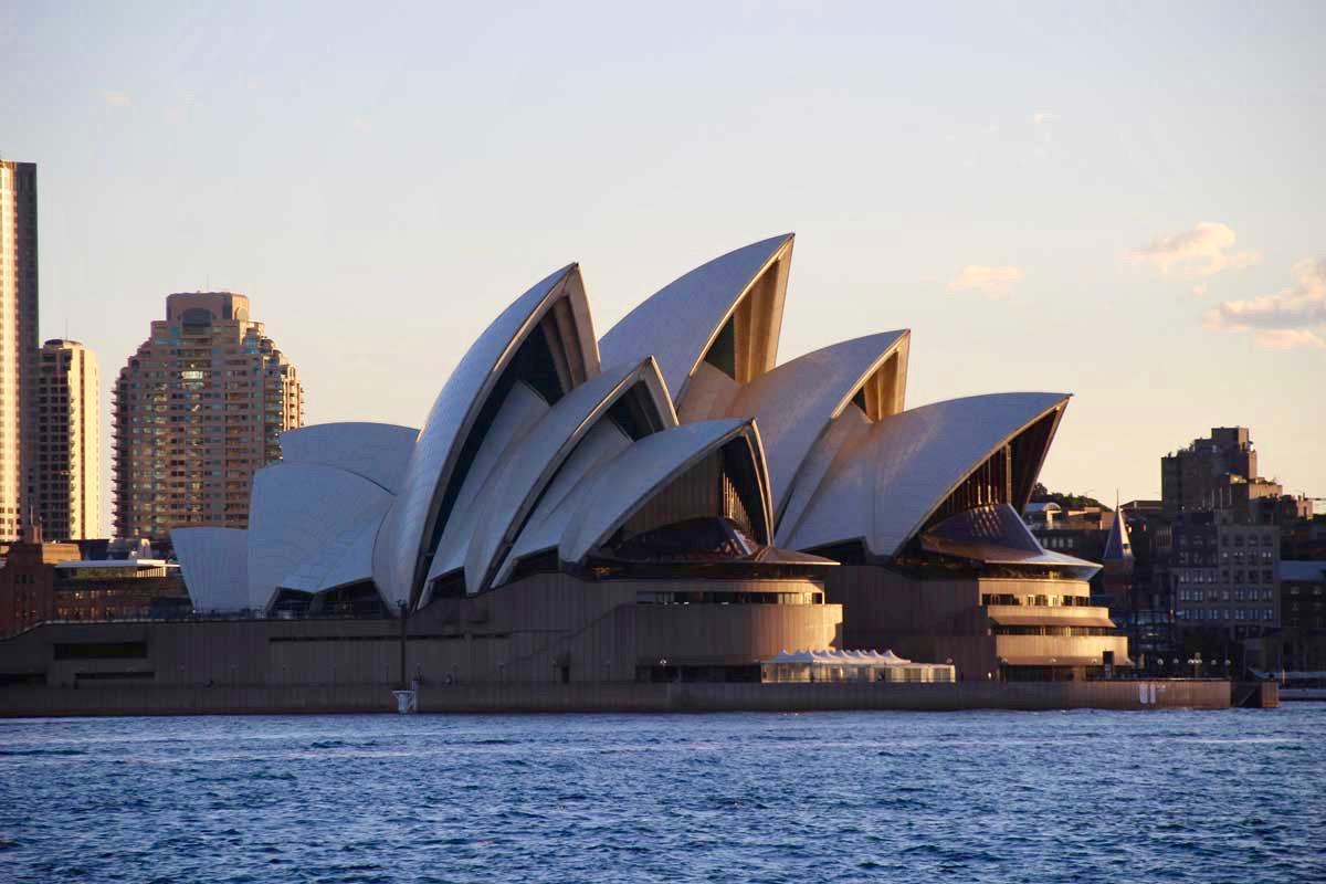 Opera coucher de soleil Sydney