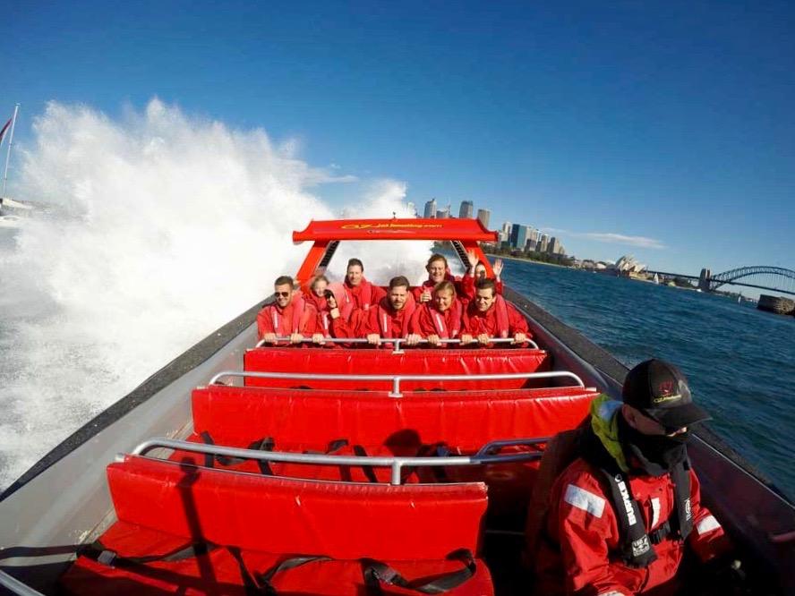 Oz Jet Boat Speedboat baie de Sydney