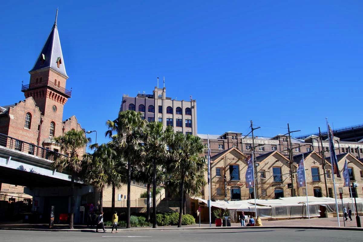 The Rocks quartier Sydney