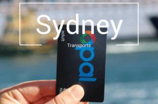 Transports Sydney carte opal