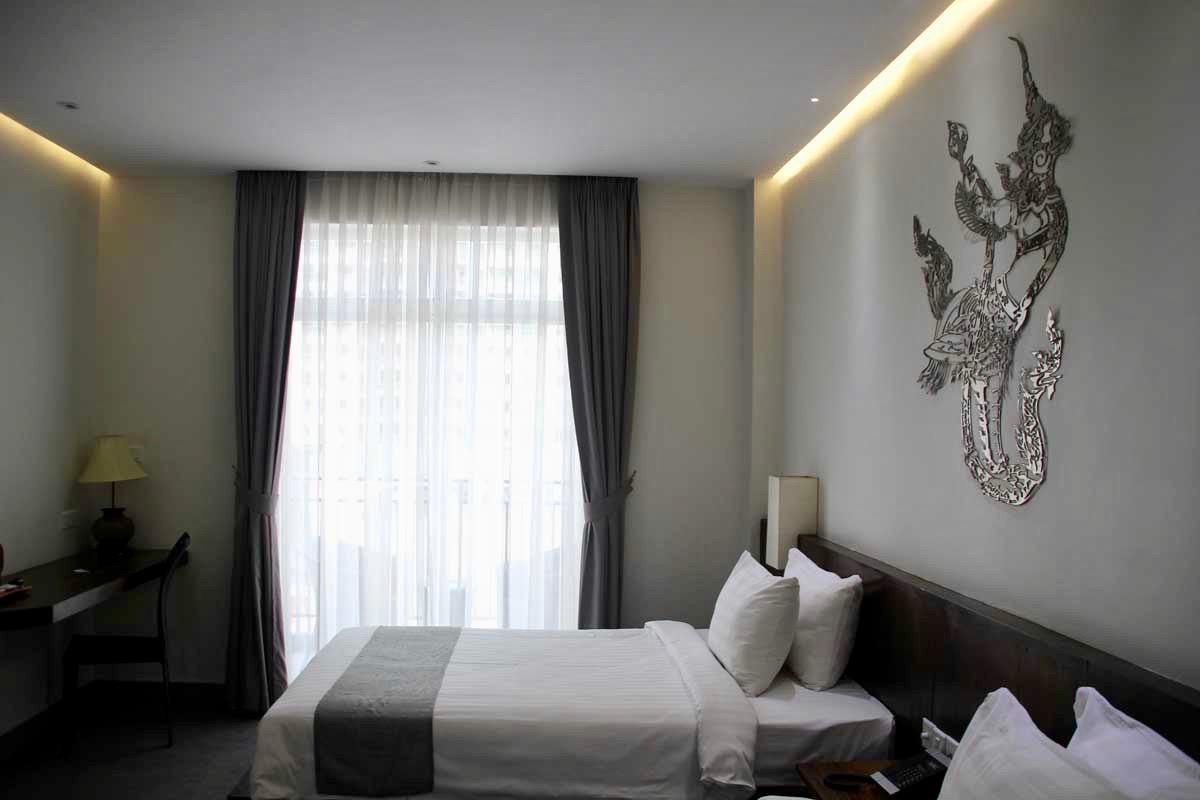 lits Hotel Balconitel Phnom Penh Cambodge