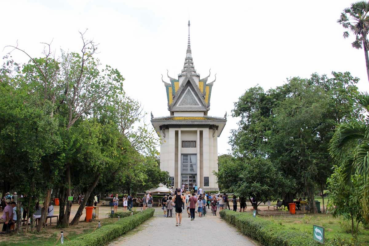memorial Killing Fields Phnom Penh Cambodge