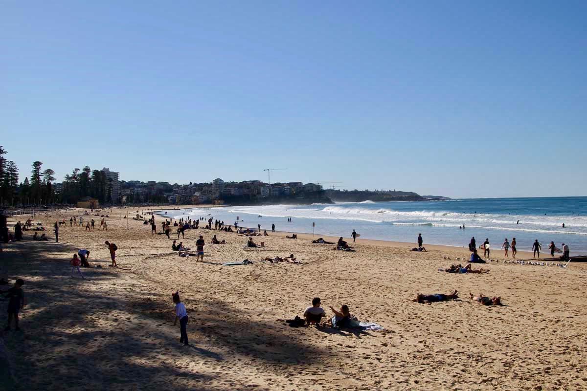 plage de Manly Beach Sydney