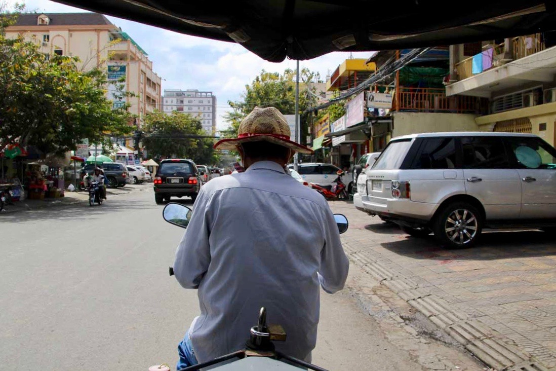 tuk tuk Phnom Penh Cambodge
