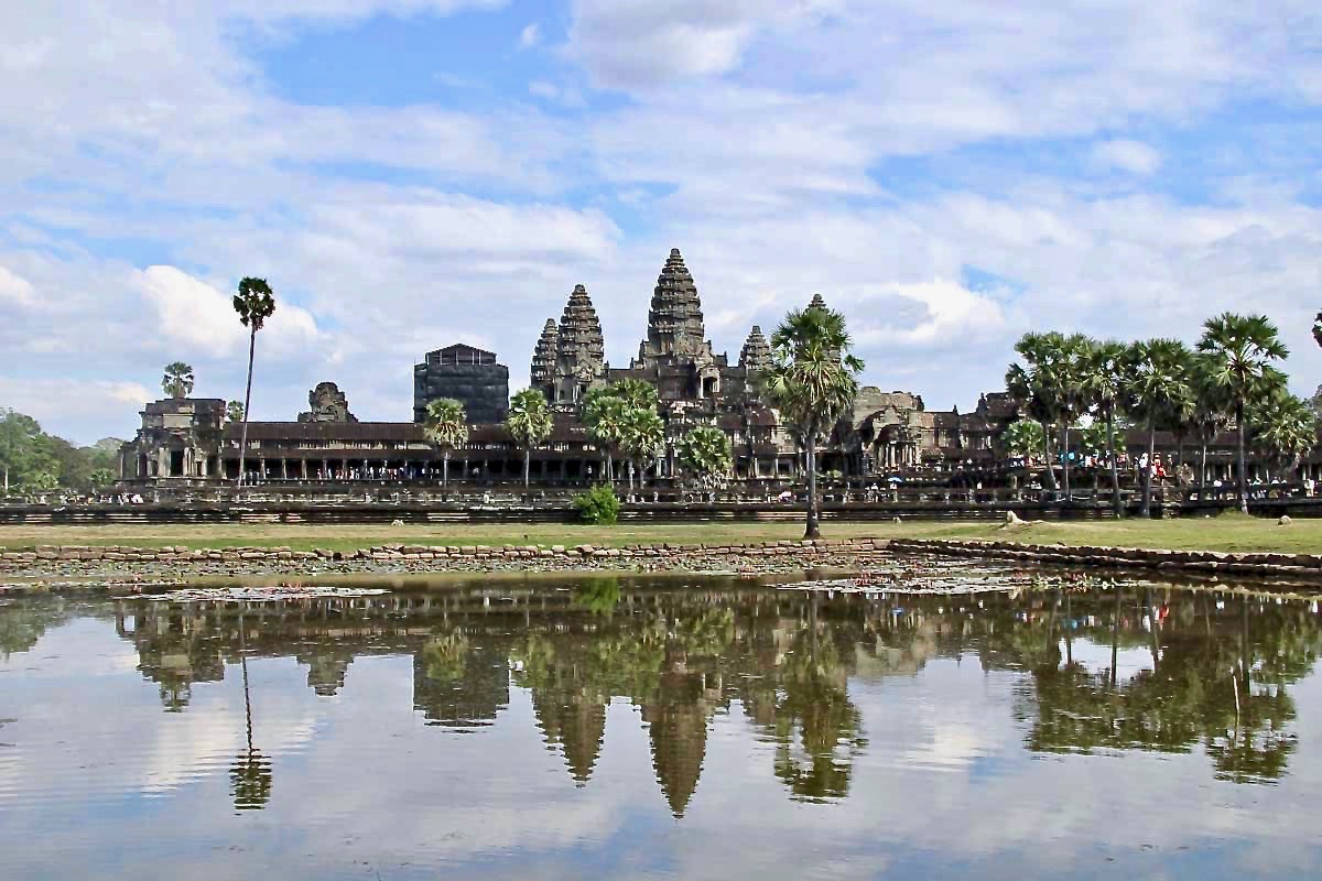 Angkor Wat reflet Temples Cambodge