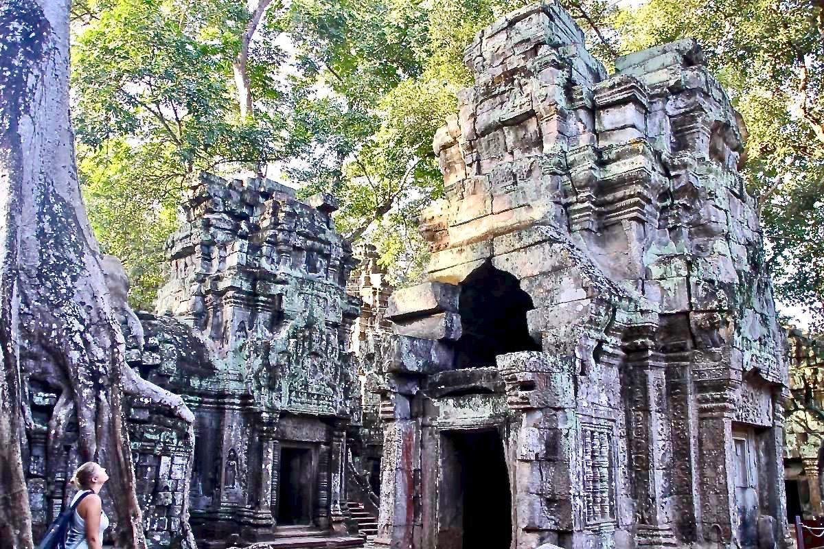 Elo Ta Phrom Temples Angkor Cambodge