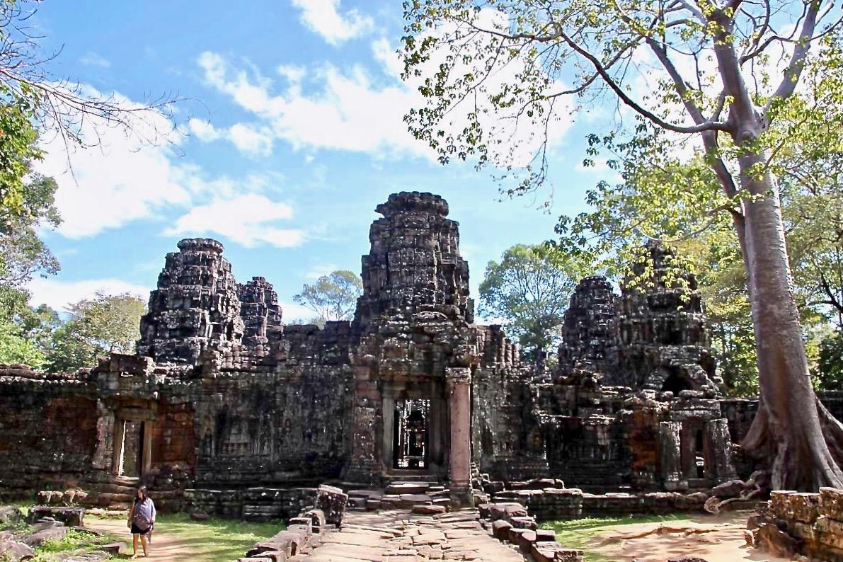 Entree Temples Angkor Cambodge
