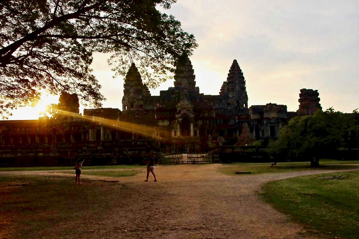 Lever de soleil Angkor Wat Temples Cambodge