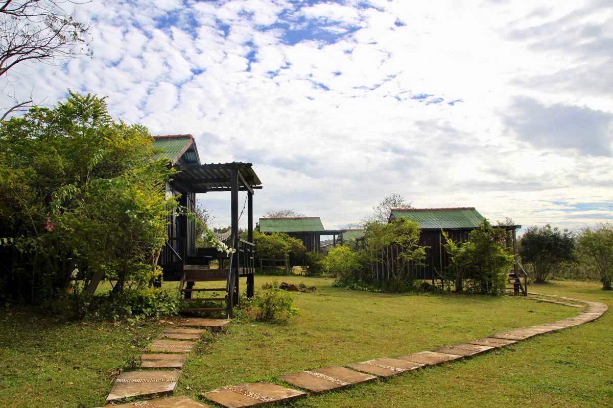 bungalows dans le parc Hotel Sen Monorom Mondulkiri