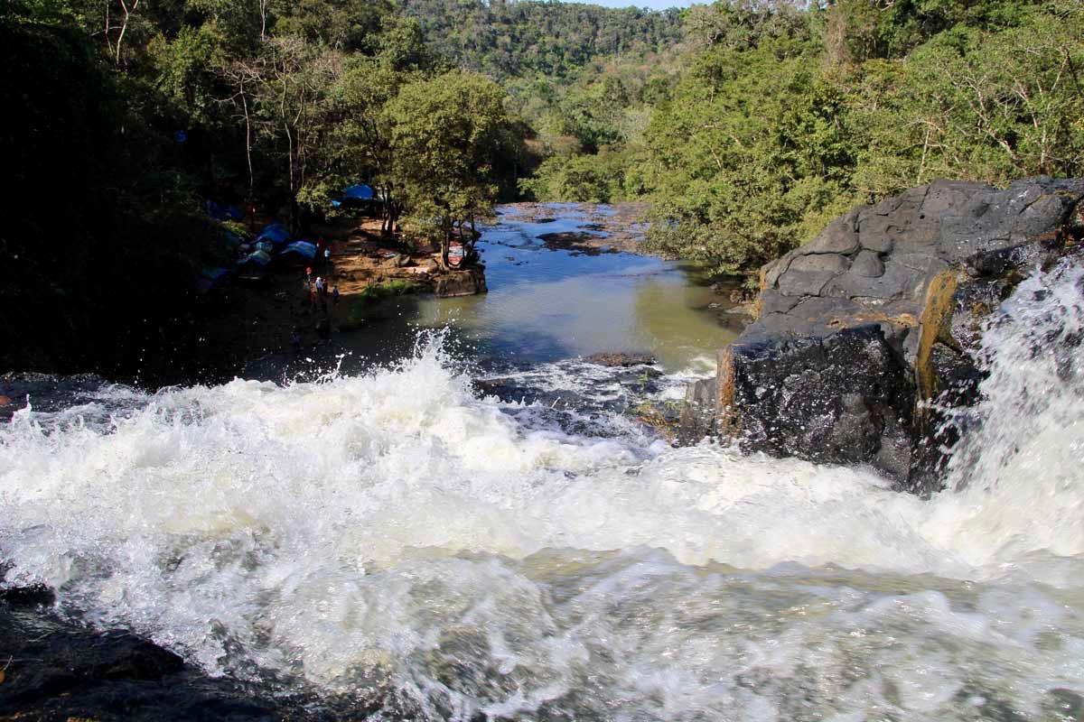 eau cascade Sen Monorom Mondulkiri