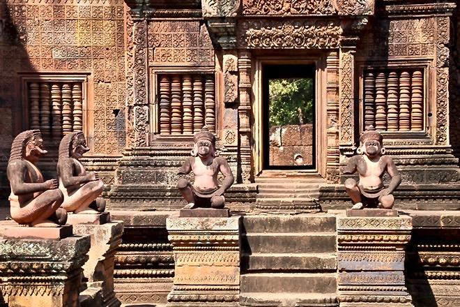 entree banta srey temples Angkor Cambodge