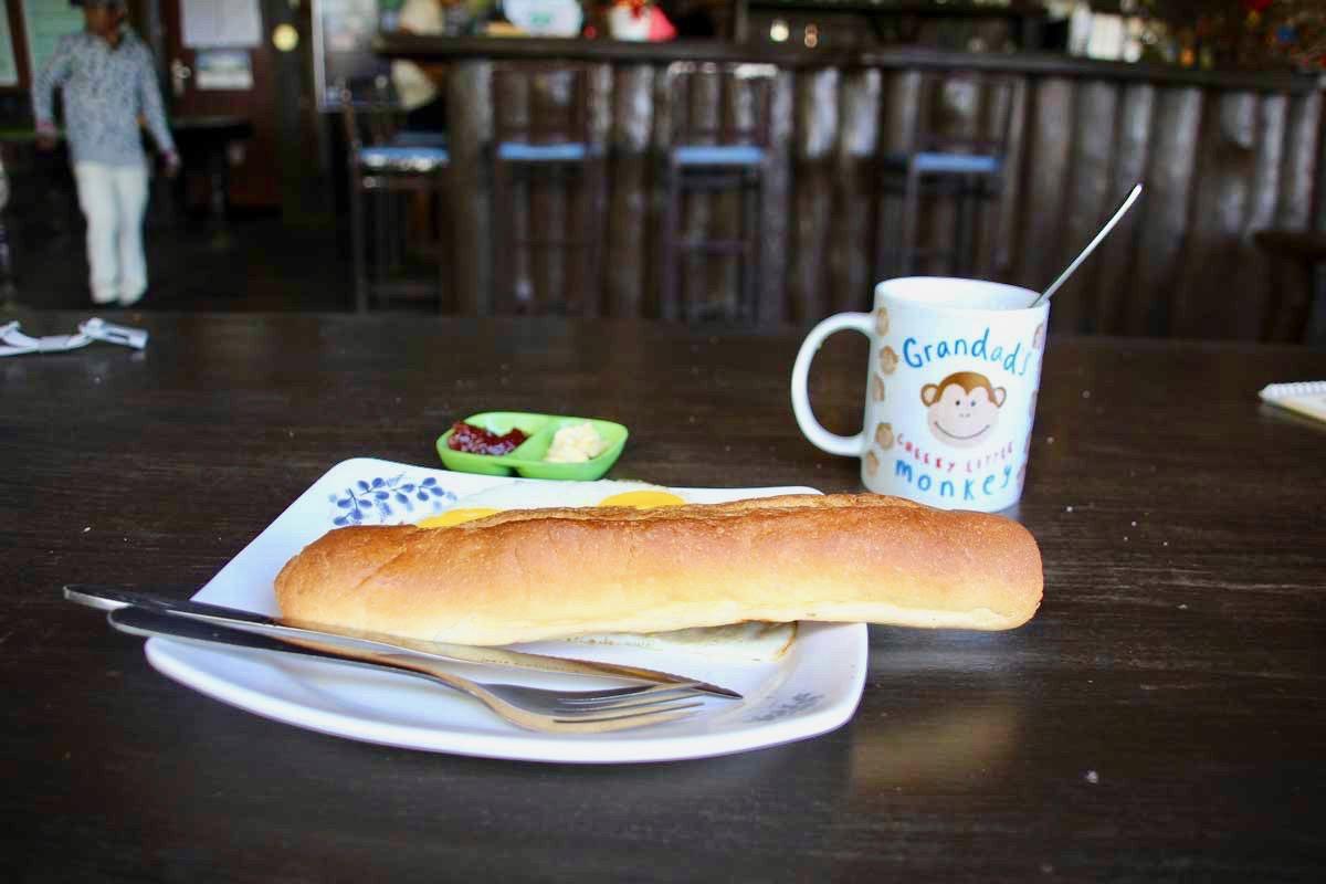 petit dejeuner Sen Monorom Mondulkiri