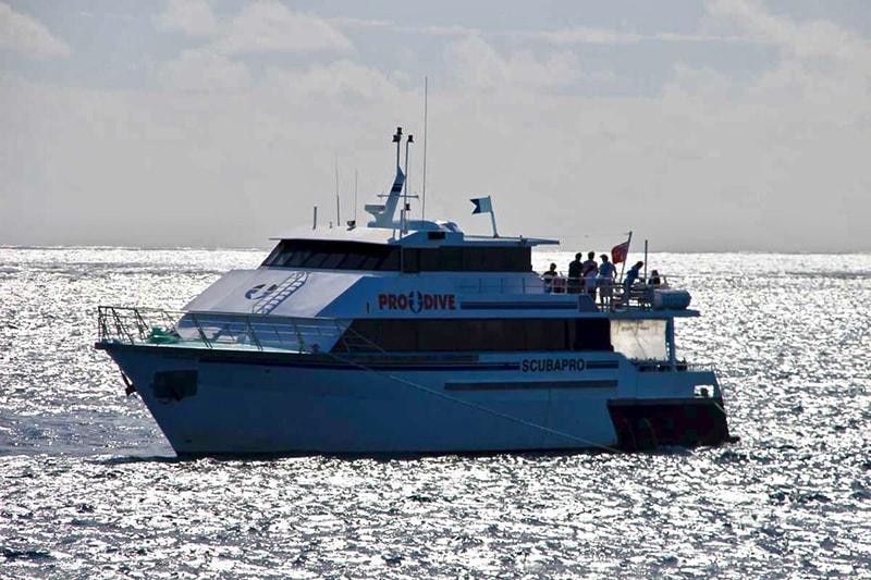 bateau Grande Barriere de Corail Cairns