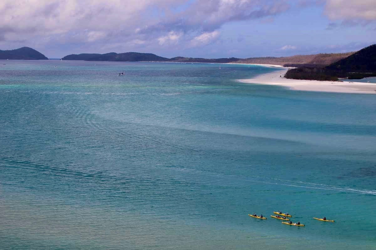 Kayak Whitsunday Australie