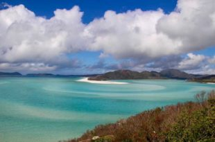 Vue Inlet Hill Whitsunday Australie