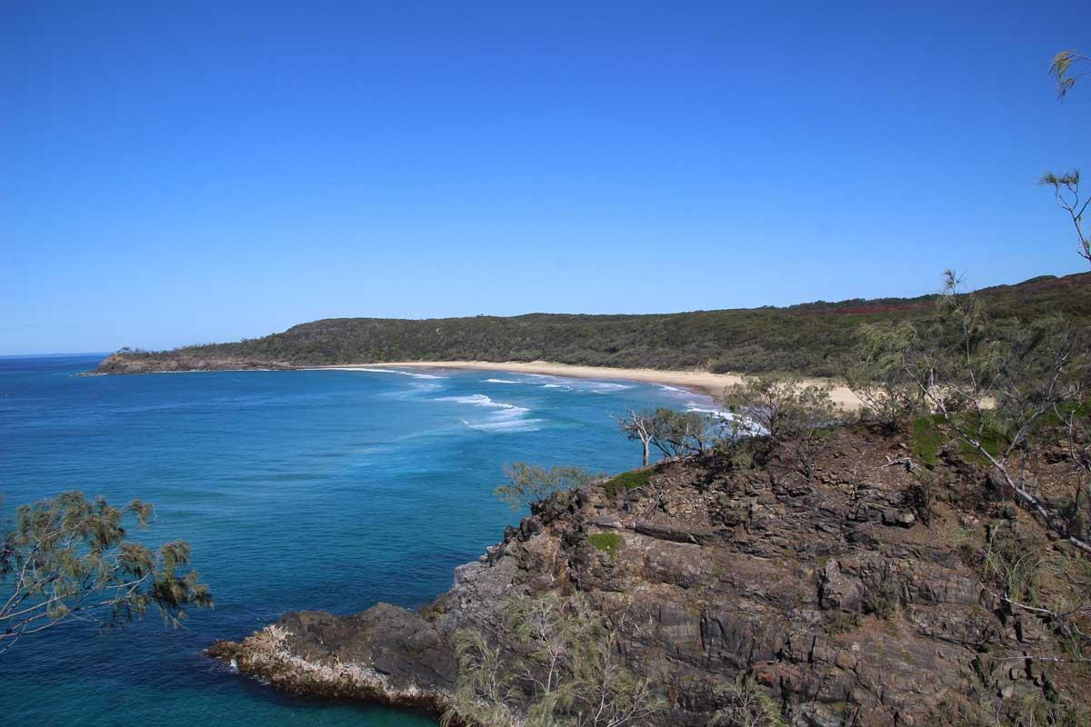 grande plage Noosa Australie